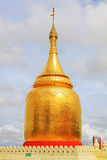 Bupaya pagod, Bagan, Myanmar Arkivbilder