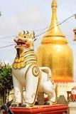 Bupaya pagod, Bagan, Myanmar Royaltyfria Bilder