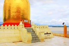 Bupaya pagod, Bagan, Myanmar Arkivfoto