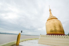 The Bupaya Pagoda in Bagan, Myanmar Royalty Free Stock Photography