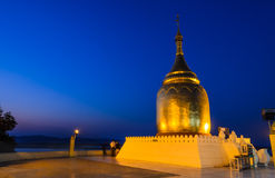 Bupaya pagoda, Myanmar Royalty Free Stock Photos