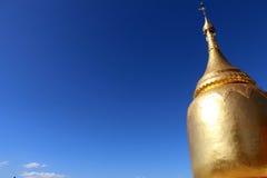Buphaya塔在Bagan,缅甸 免版税库存图片