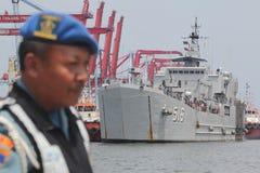 Buque de guerra de Indonesia Imagen de archivo