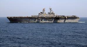 Buque de guerra de la marina Fotos de archivo libres de regalías