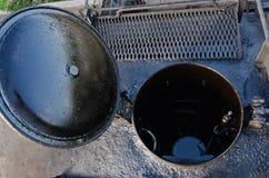 buque de petróleo del carro Foto de archivo