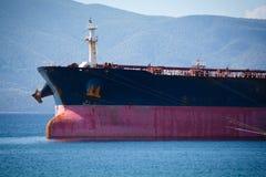 Buque de petróleo Foto de archivo libre de regalías