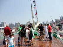 Buque Escuela Gloria @ hastig vecka 2012 17 Arkivfoton