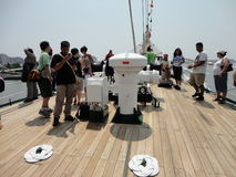 Buque Escuela Guayas @ flota tydzień 2012 11 Obrazy Royalty Free