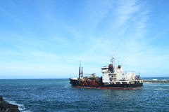 Buque oceanográfico Foto de archivo libre de regalías