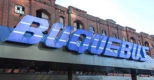 Buquebus -布宜诺斯艾利斯,阿根廷 免版税库存照片