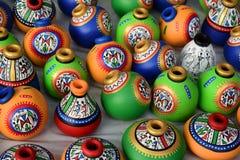 Buques coloridos Imagen de archivo libre de regalías