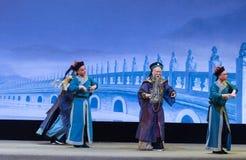 Burócratas en el Shan del €œFu de Qing Dynasty-Shanxi Operaticâ al  de Beijing†foto de archivo