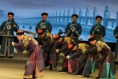 Burócratas en el Shan del €œFu de Qing Dynasty-Shanxi Operaticâ al  de Beijing†Fotos de archivo