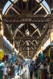 Bur Dubai Souk arabian market Stock Image