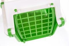 Bur för plast- för Closeupkattlopp Royaltyfri Bild
