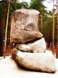 Burabay stones Royalty Free Stock Photos