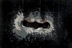 Buraco da fechadura Fotografia de Stock Royalty Free