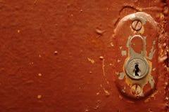 Buraco da fechadura Imagem de Stock
