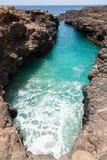Buracona στο Πράσινο Ακρωτήριο νησιών άλατος - Cabo Verde Στοκ Εικόνες