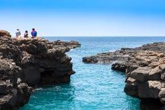 Buracona στο Πράσινο Ακρωτήριο νησιών άλατος - Cabo Verde Στοκ εικόνες με δικαίωμα ελεύθερης χρήσης