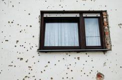 Buracos de bala Foto de Stock