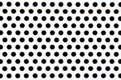 Buracos negros na placa metálica de prata Imagens de Stock