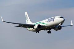 Burak空气波音737 库存照片