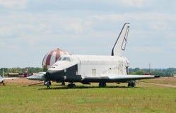 Buran 2.01 orbital pojazd Obrazy Stock