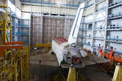 Buran spacecraft Royalty Free Stock Photos