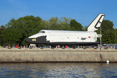 Buran spacecraft stock image