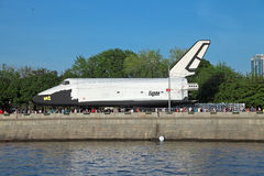 Buran spacecraft Royalty Free Stock Images