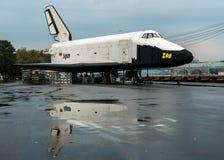 Buran - vaisseau spatial soviétique Images stock