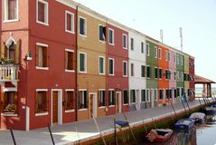 Burano in  Italy Stock Images