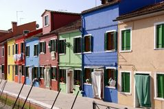 Burano, Italy Stock Photo