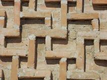 Buranatoren Oude baksteen Royalty-vrije Stock Foto