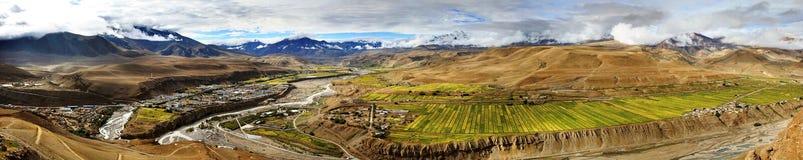 Burang, Tybet obraz stock