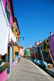 Burano海岛 库存图片