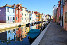 Burano,威尼斯 库存照片