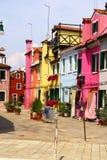 Burano ö Fotografering för Bildbyråer