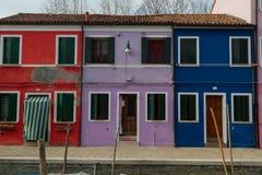 Burano, Βενετία Στοκ Εικόνα