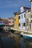 burano Ιταλία Βενετία στοκ φωτογραφία με δικαίωμα ελεύθερης χρήσης