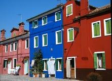 burano Ιταλία στοκ εικόνα με δικαίωμα ελεύθερης χρήσης