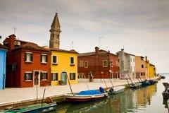 burano Италия Стоковое Изображение