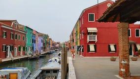 burano Италия стоковая фотография rf