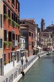 Burano -威尼斯-意大利的海岛 图库摄影