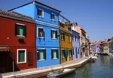 Burano Stockfotos