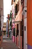 Burano Photos libres de droits