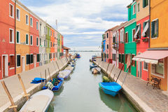 Burano city view Royalty Free Stock Photo
