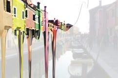 Burano Colors #3 Stock Photo