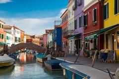 Burano colours Zdjęcie Royalty Free